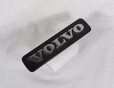 VOLVO FENDER EMBLEM GENUINE OEM BADGE silver black sign symbol logo name