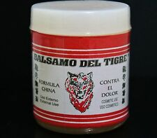 Balsamo De Tigre (Tiger Balm) 4oz Relief Minor Aches And Pains