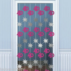 2m-Happy-40th-Birthday-PINK-Door-Doorway-Danglers-Party-Decoration