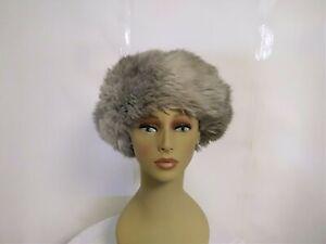 Jacoll-vintage-fourrure-chapeau-annees-1940-Russe-Style