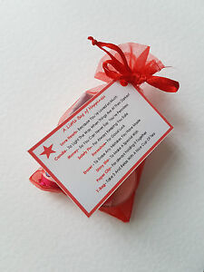 a little bag of happiness novelty survival kit stocking filler