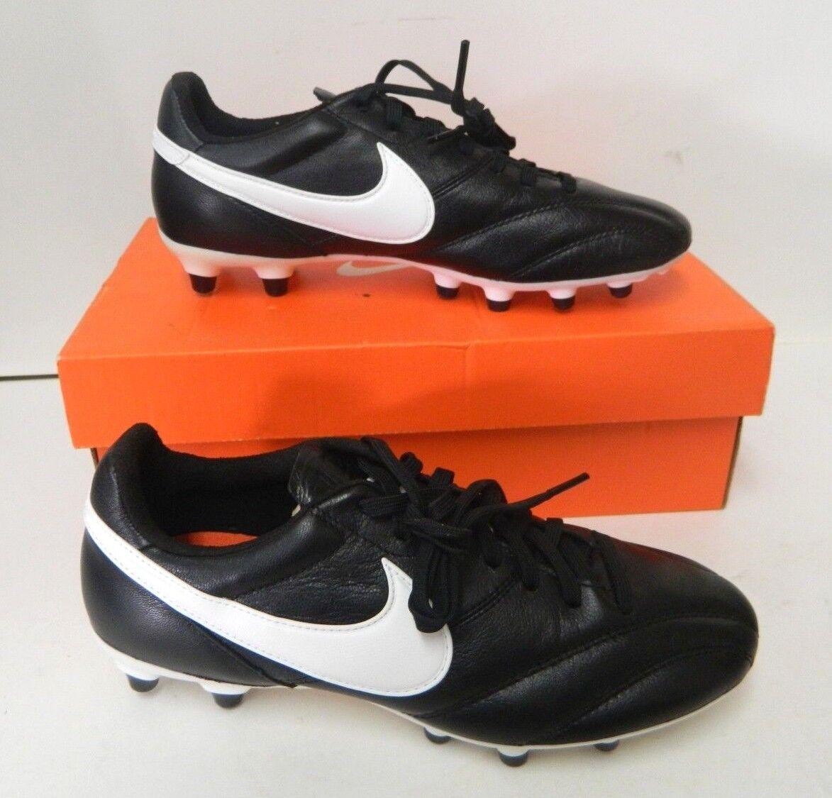 NEW Nike Premier FG Men's Size 5 Soccer Cleats Black   White