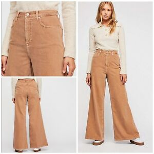 dbce9e8601c Image is loading Free-People-Super-High-Rise-Wide-Leg-Jeans-