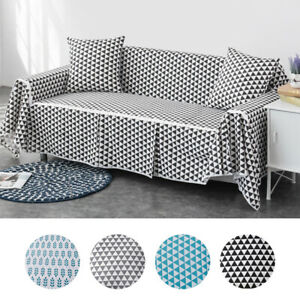 Chair-Sofa-Couch-Loveseat-Cover-Furniture-Cotton-Blend-Slipcover-Protector-Cases
