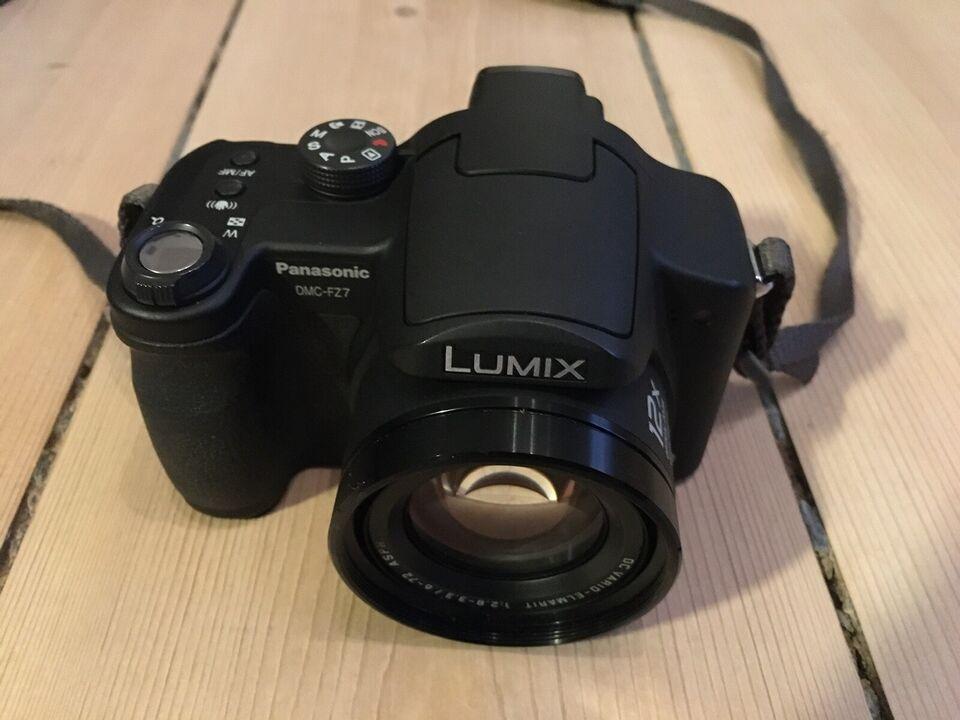 Panasonic, DMC-27, 36-432 x optisk zoom