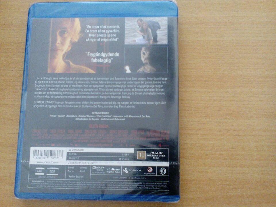 Børnehjemmet , Blu-ray, gyser