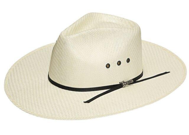5ac83167 CASUAL Cowboy HAT -Fedora Western Indiana- Natural Straw - 3.5
