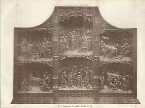 1887-Old-Flemish-Carved-Altarpiece