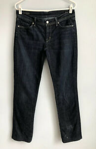 CITIZENS-OF-HUMANITY-Size-30-Ava-Low-Rise-Straight-Leg-Jeans-Dark-Wash