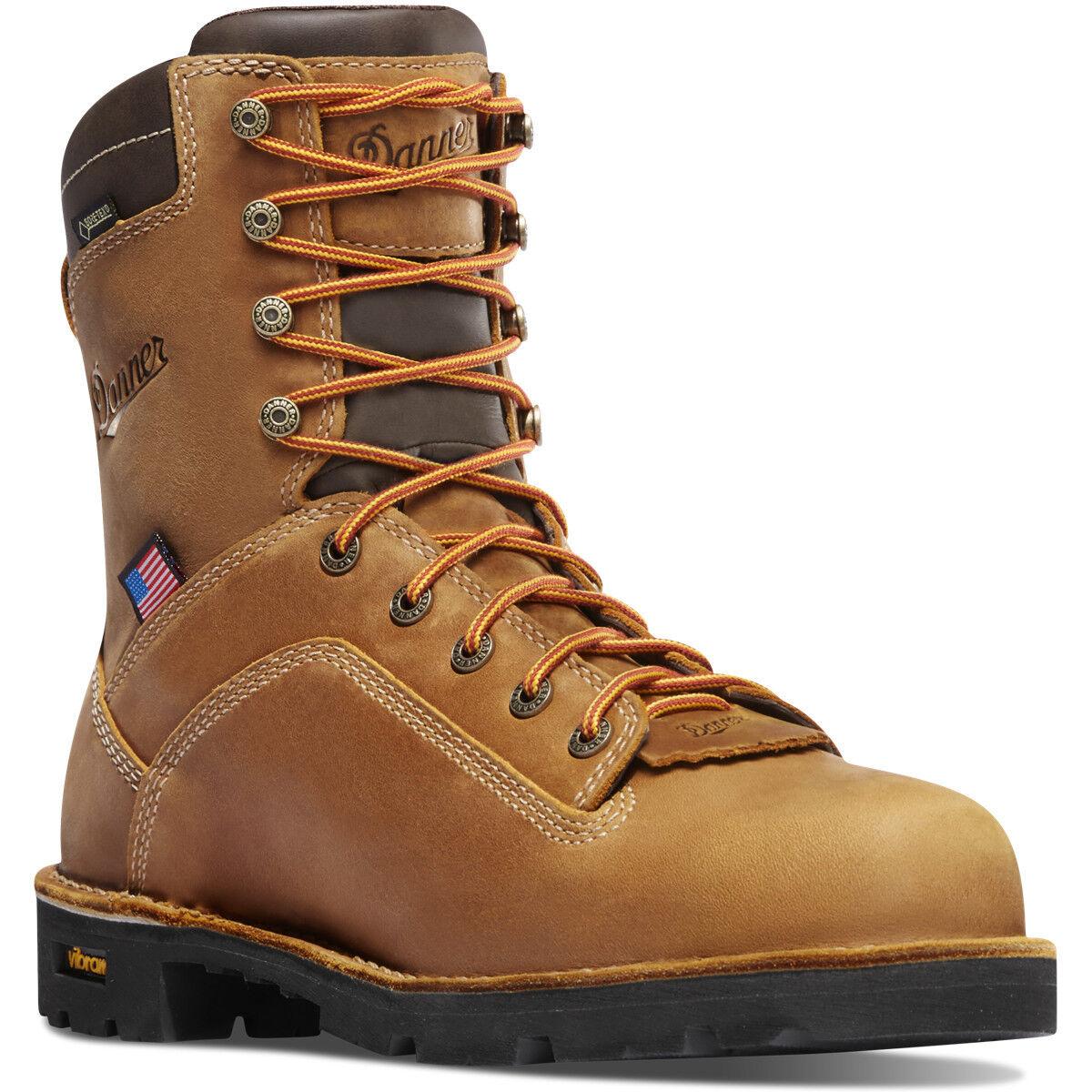 Danner Men's Quarry USA 8  Distressed Brown 17315