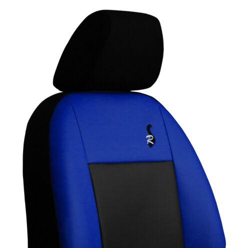 1 ECO LEATHER VAN UNIVERSAL SEAT COVERS forTOYOTA PROACE  2