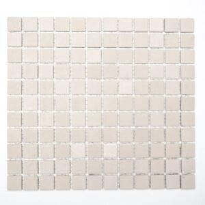 Détails sur 18-1204-r10 Céramique Mosaïque Beige Salle de Bain Mur Sol  Cuisine WC rutschemmend Stock- afficher le titre d\'origine