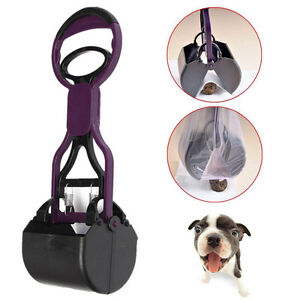 Pet-Dog-Waste-Easy-Pickup-Pooper-Scooper-Walking-Poo-Poop-Scoop-Grabber-Pic-lx