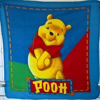 ~ Winnie the Pooh - COT BABY SIZE POLAR FLEECE THROW CAR BLANKET RUG BED SPREAD