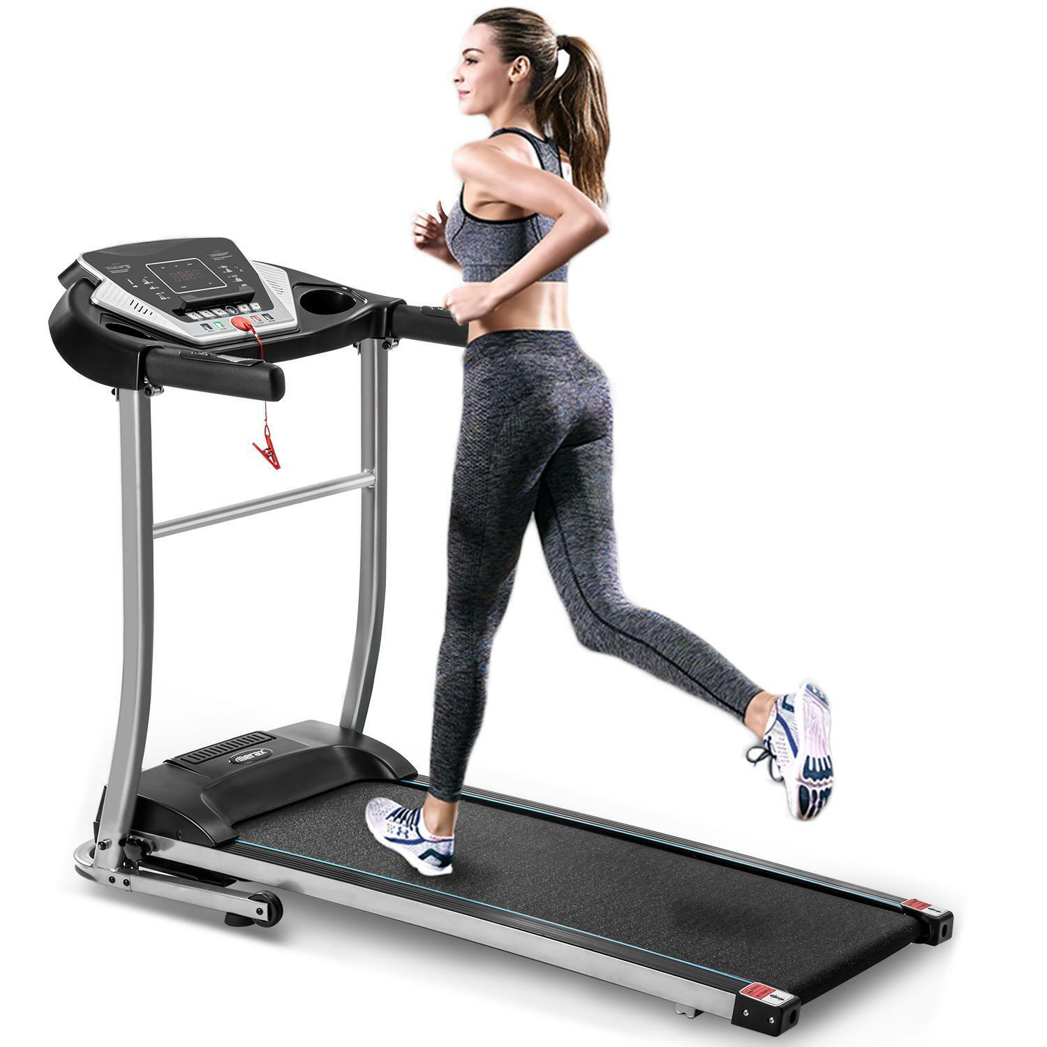 1.5 HP  [Hot] Easy Assembly Folding Electric Treadmill Motorized Running Machine