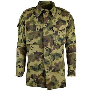 Genuine-Romanian-army-field-jacket-military-BDU-M93-camo-leaf-military-combat