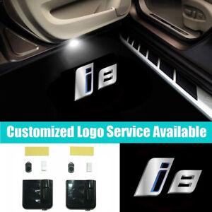 B M W M Car Door Door Logo 3D Laser LED Shadow Light Sport Car Door Projector Welcome Projector Lamp Logo Light F88-148