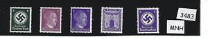 MNH-stamp-set-PF06-Adolph-Hitler-WWII-Third-Reich-Germany-1930s-amp-1940s