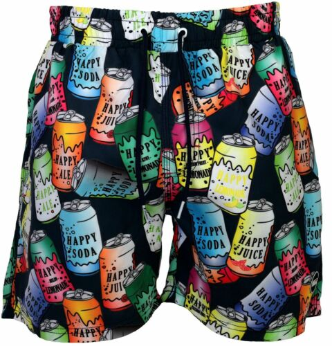 Happy Pantaloncini Uomo Pantaloncini Da Bagno Spiaggia Pantaloncini Shorts Pantaloni balneazione dosi can S-XXL