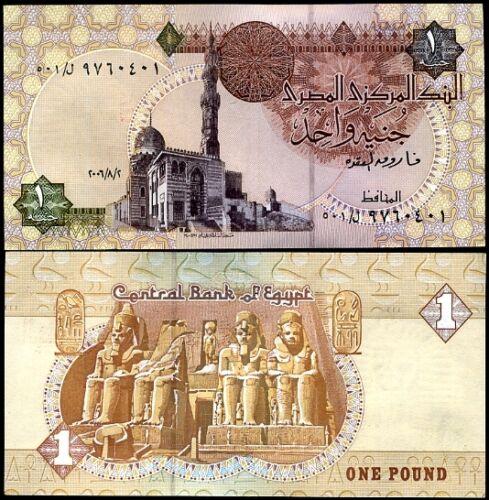 EGYPT 1 POUND 2006 P 50 UNC