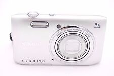 Nikon COOLPIX S3600 20.1MP Digital Camera - Silver - NO ACCESSORIES