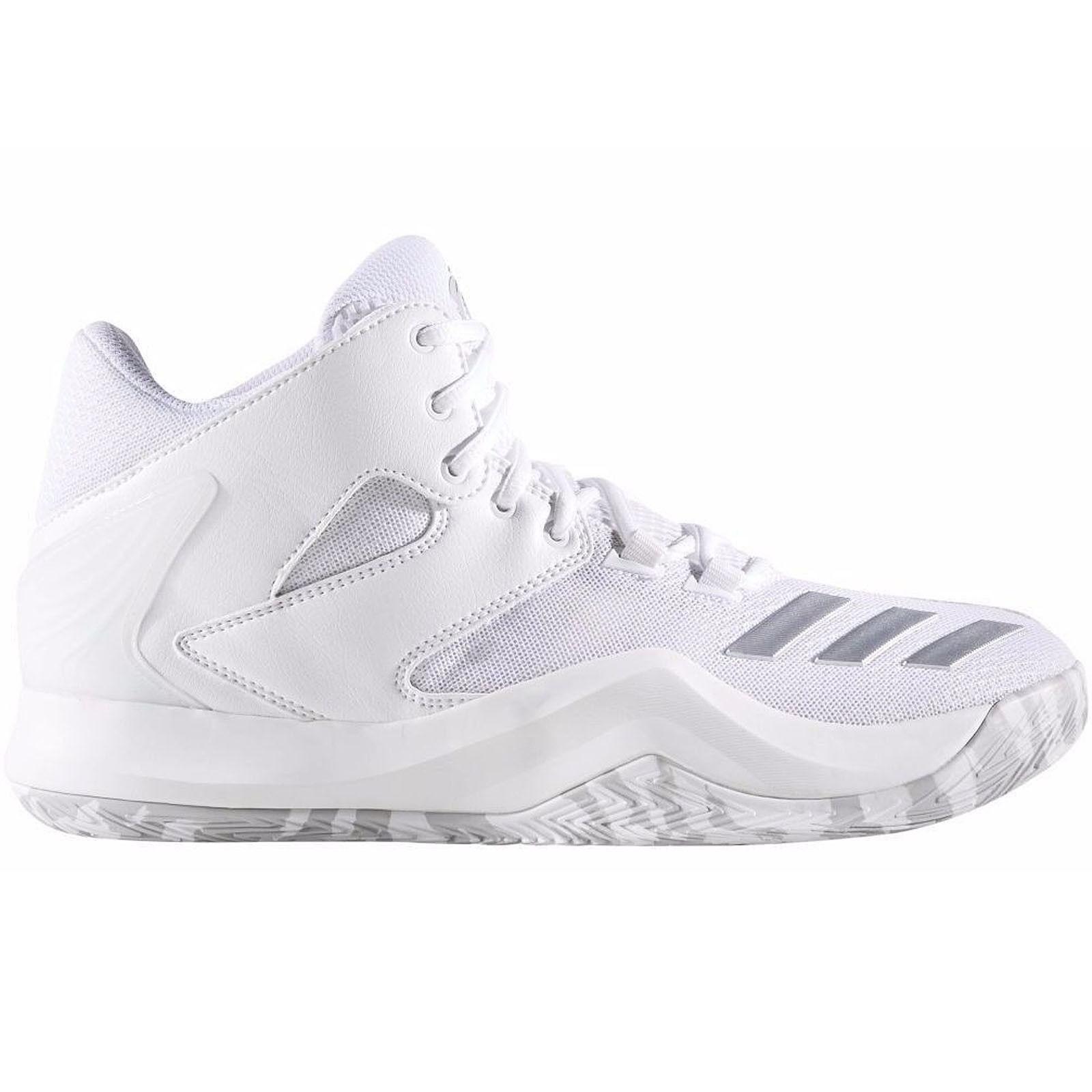 Adidas Performance Mens Derrick pink 773 V Basketball Hi Top Trainers shoes