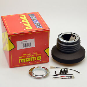 Fiat-500-595-695-Abarth-2007-steering-wheel-hub-adapter-boss-kit-MOMO-4040