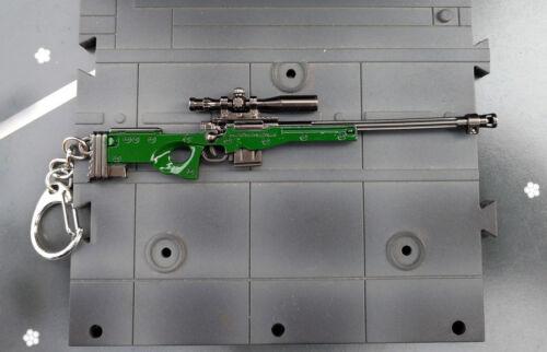 Pubg AWP L96A1 SNIPER ARMA Pistola Battlefield 4 campo di battaglia 4.5 pollici Portachiavi