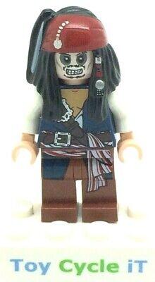 Lego Pirates Of The Caribbean Captain Jack Sparrow Minifigure Set 4181