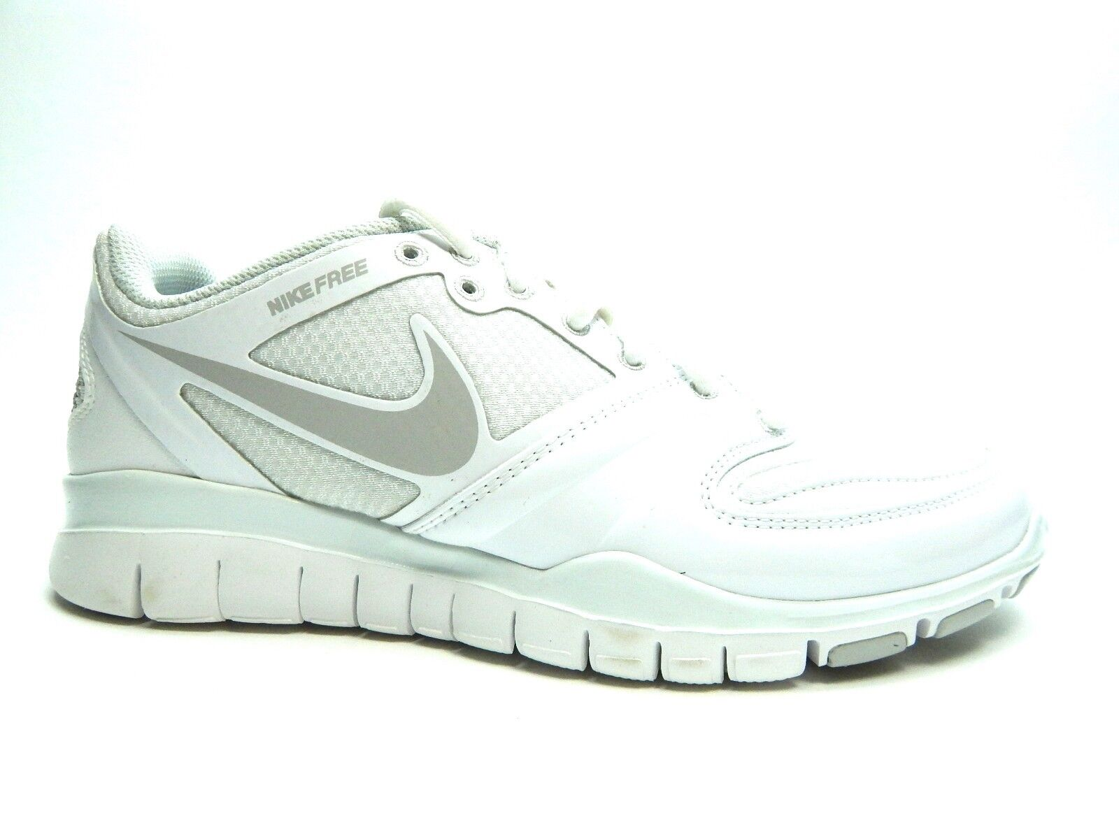 new products d9633 a8dc8 ... NIKE FREE HYPER CHEER WHITE WHITE WHITE NEUTRAL GREY WOMEN SHOES SIZE 5  TO 12 58bd6b ...