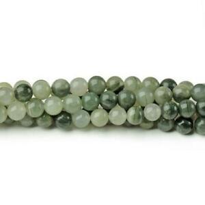 Line-Quartz-Round-Beads-6mm-Green-60-Pcs-Gemstones-DIY-Jewelry-Making-Crafts