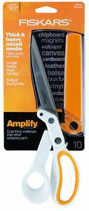 Fiskars-Amplify-Scissors-10-034-for-Thick-amp-Heavy-Mixed-Media-Fabric-Paper-Softgrip