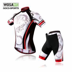 Professional-Cycling-Jerseys-Shorts-kit-Short-sleeve-Quick-dry-Bike-Tops-Pants