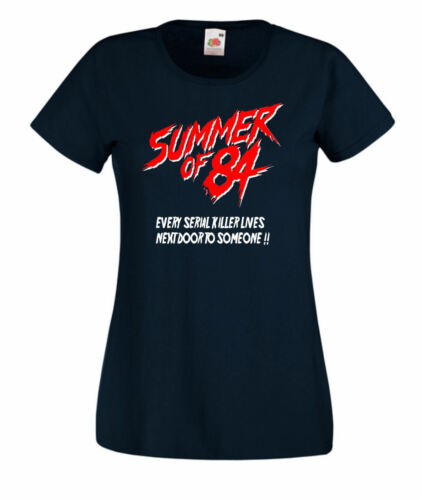 Summer Of 84 Retro Horror Movie T Shirt Hoodie