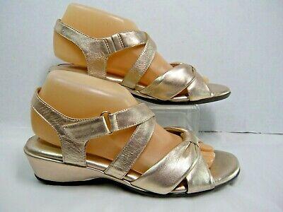 45c042de4899f Nurture Womens Sandals Wedge Heel Sz 8 M