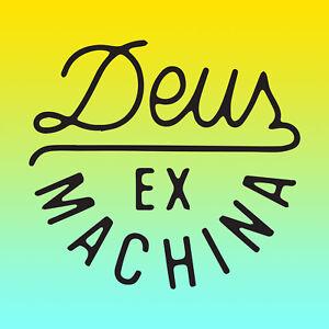 Deus Ex Machina Vinyl Sticker Decal x 2