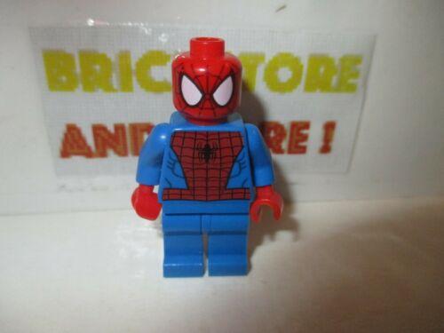 Lego Spider-Man Minifigures Black Web Pattern sh038