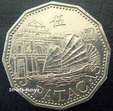 MACAU 5 PATACAS 2003 COIN
