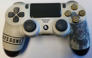 Details about Custom Playstation 4 PS4 V2 Controller 'Days Gone' w/ real  bullet buttons