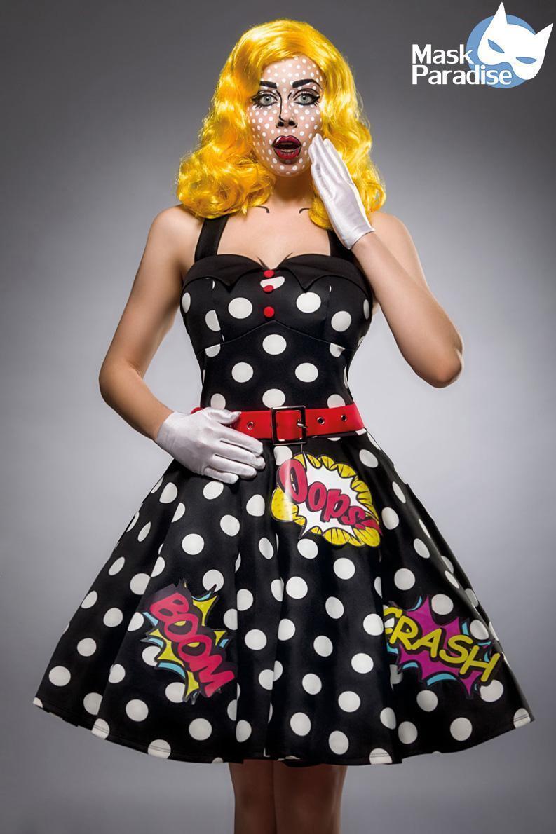 Pop Art Kostüm  Pop Art Art Art Girl   Spielen Sie das Beste  015c8f