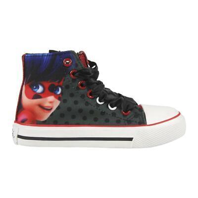 Miraculous Ladybug Kids Slip-on Shoes Trainers Sneakers Original Licensed Mir...