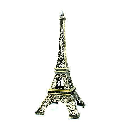 2. Wahl Eiffelturm 32 cm Tour Eiffel Tower Turm Souvenir Paris Frankreich Metall