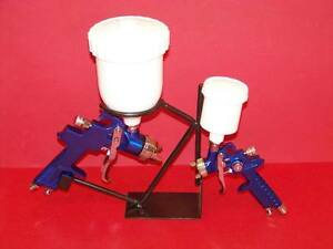 2PC Air Spray Gun 1.4 MM HVL Spray gun / HVLP Air Touch Up Spray Gun w / Holder