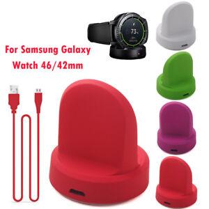 Kabellos-Ladegeraete-Dockingstation-Ladestation-fuer-Samsung-Galaxy-Watch-46-42mm