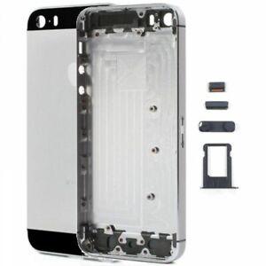 Chasis + Botones laterales IPhone 5S Original Color Gris Espacial Nuevo