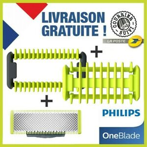 Philips-OneBlade-One-Blade-1-LAME-Kit-Corps-Et-Zone-Sensible-NEUF