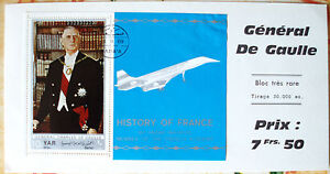 BLOC-COLLECTOR-TRES-RARE-GENERAL-CHARLES-DE-GAULLE-30000-exemplaires