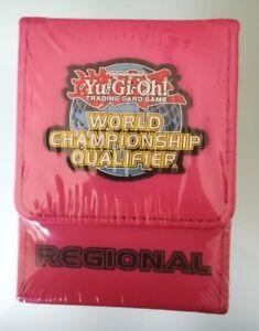 YU-GI-OH DECK BOX WORLD CHAMPIONSHIP QUALIFIER REGIONAL PINK NEW