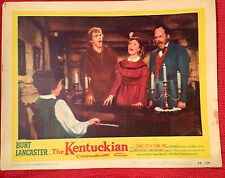 The Kentuckian 1955 lobby card Burt Lancaster United Artists
