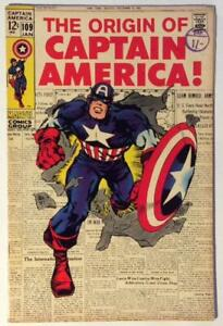 Captain-America-109-DC-1969-KEY-Origin-Issue-Silver-Age-FN-VF-condition